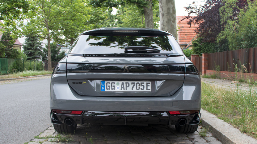 Heck Peugeot 508 PSE