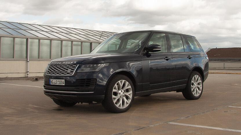 Test Range Rover Front