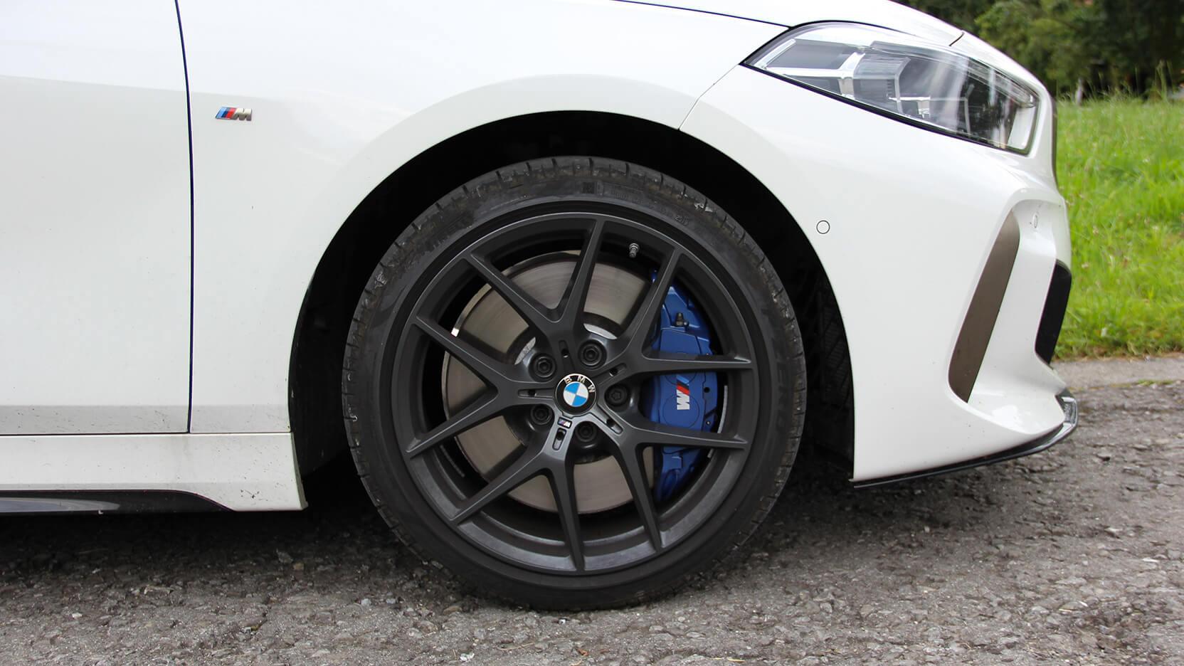 BMW M135i Test Felgen