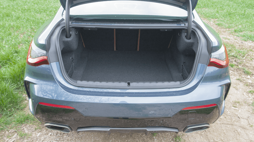 Test BMW 4er Kofferraum