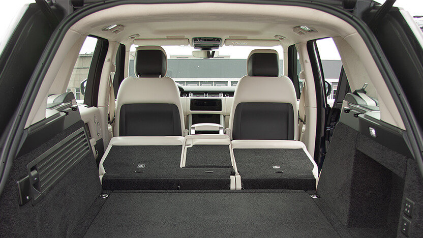 Test Kofferraum Range Rover