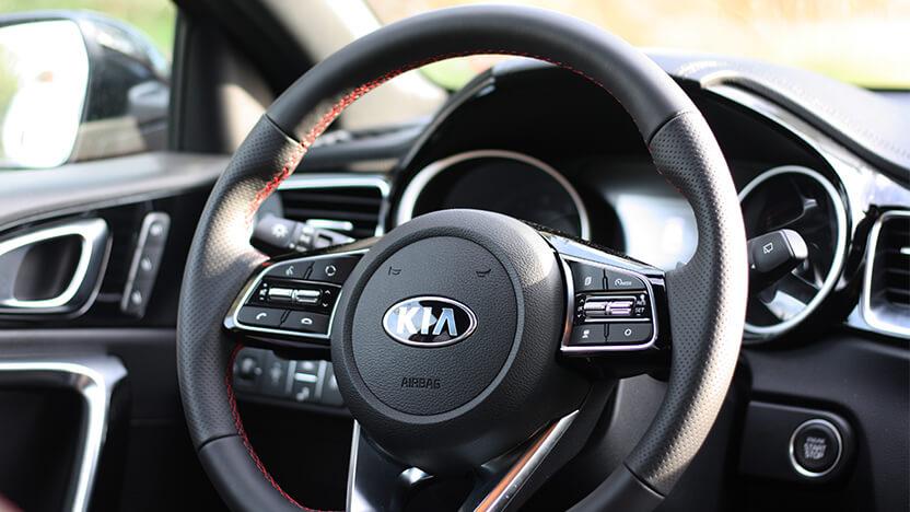 Kia Ceed GT Test Interieur
