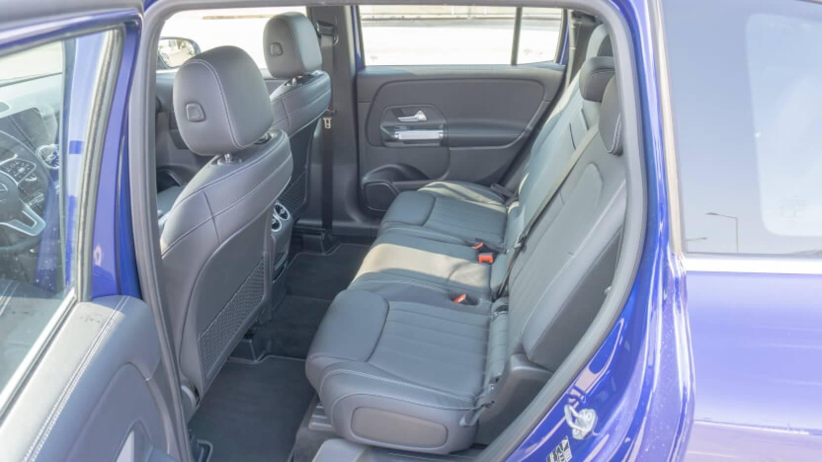 Mercedes GLB Test Rücksitze