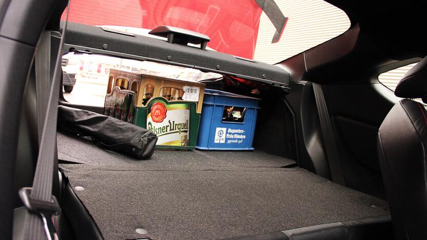 Test Subaru BRZ Kofferraum