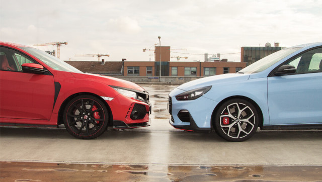 Vergleichs-Test: Civic Type R vs i30 N Performance