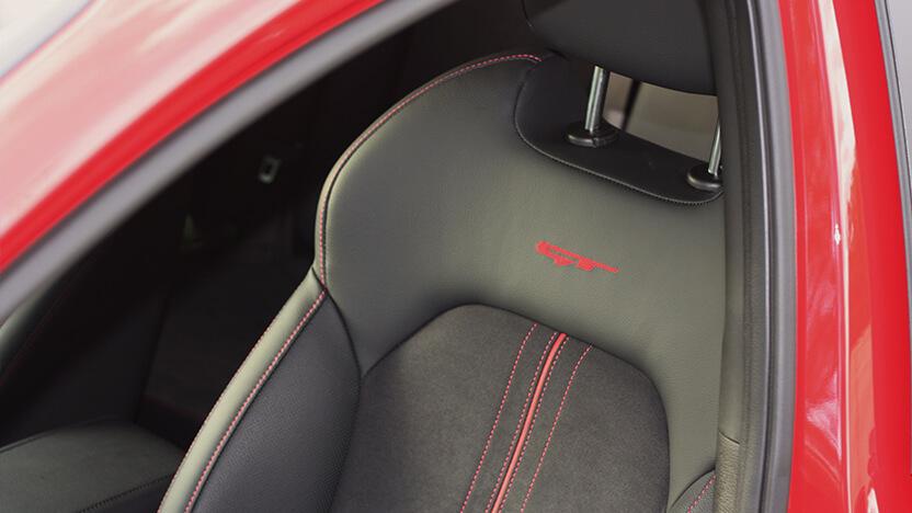Kia Ceed GT Test Sitze
