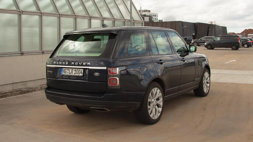 Test Range Rover Heck