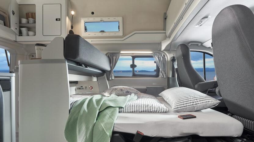 Campingbusse Vergleich Modelle Ford