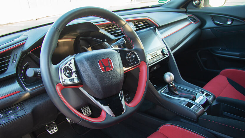 Test Honda Civic Type R