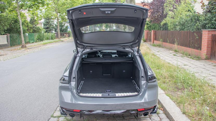 Kofferraum offen Peugeot 508