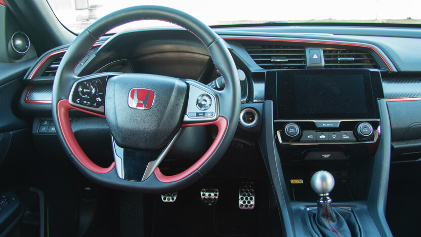 Honda Civic Type R Interieur