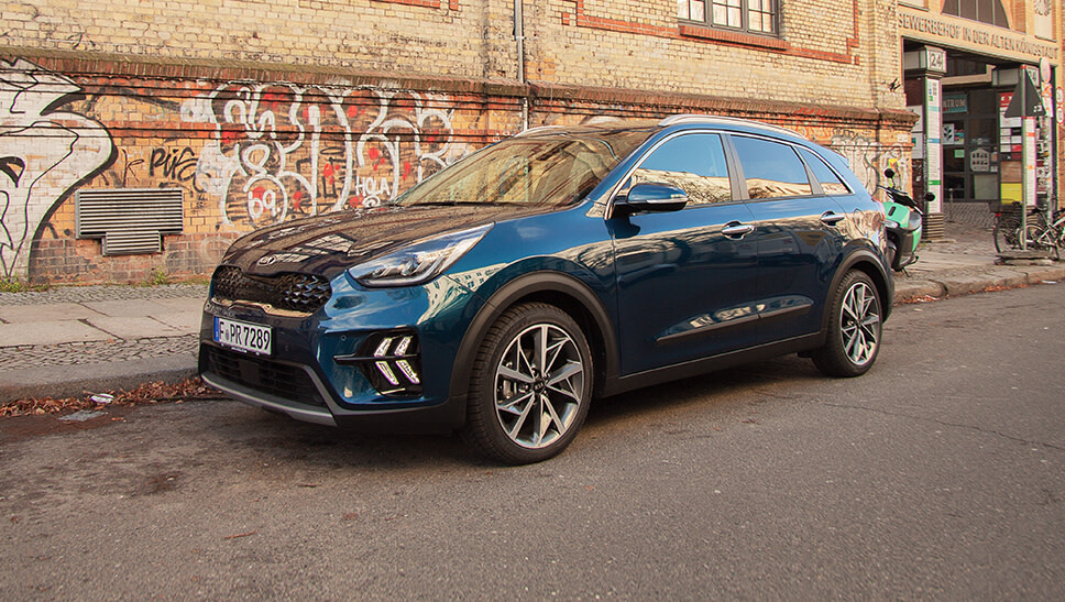 im test der kia niro hybrid heycar. Black Bedroom Furniture Sets. Home Design Ideas
