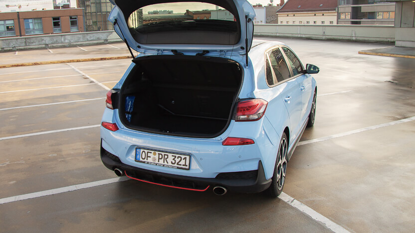 i30 N Performance Kofferraum