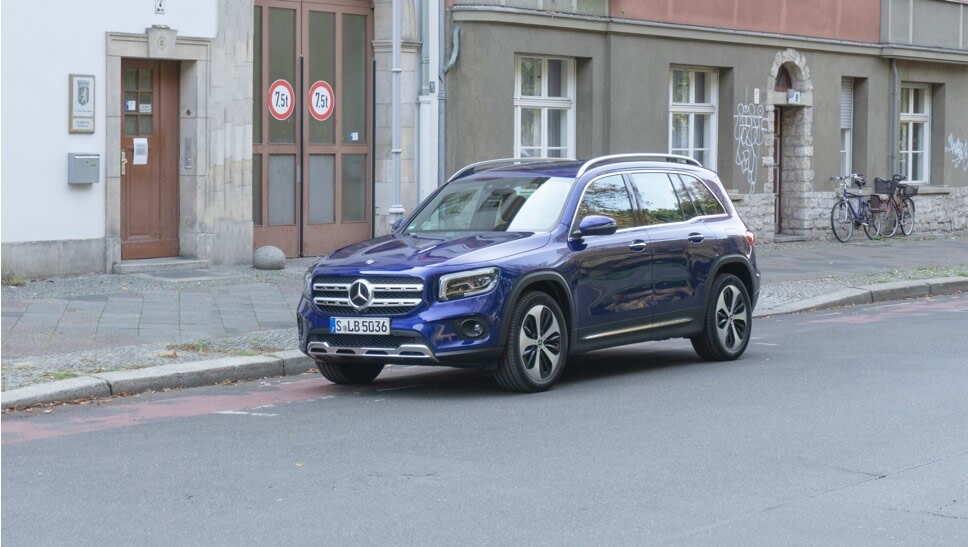 Im Test: Mercedes GLB 200 d 4MATIC