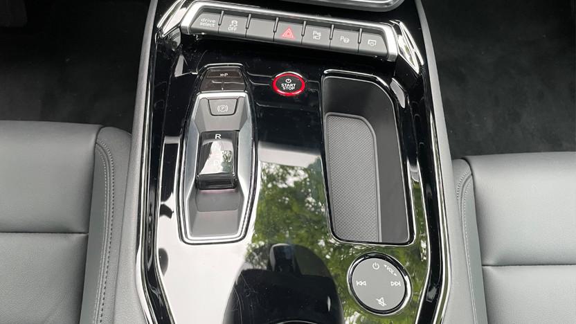 e-tron GT quattro Schaltung
