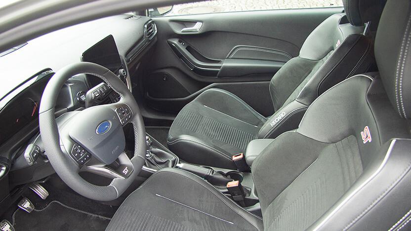 Ford Fiesta ST Sitze