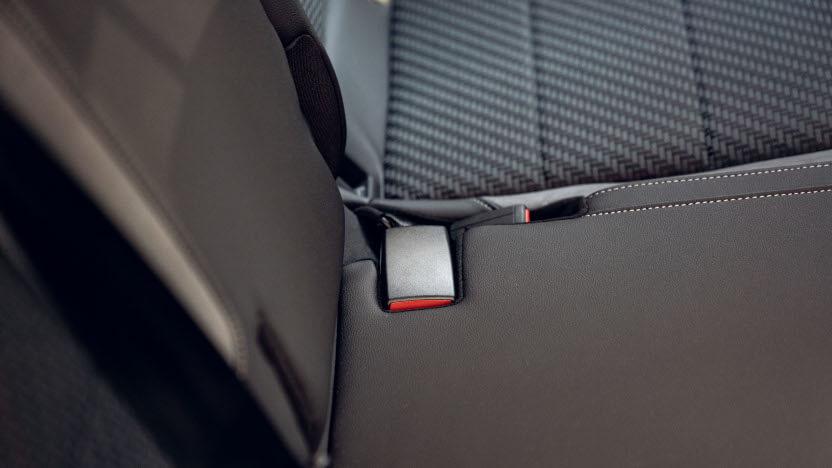 Volkswagen T-Cross Rücksitze