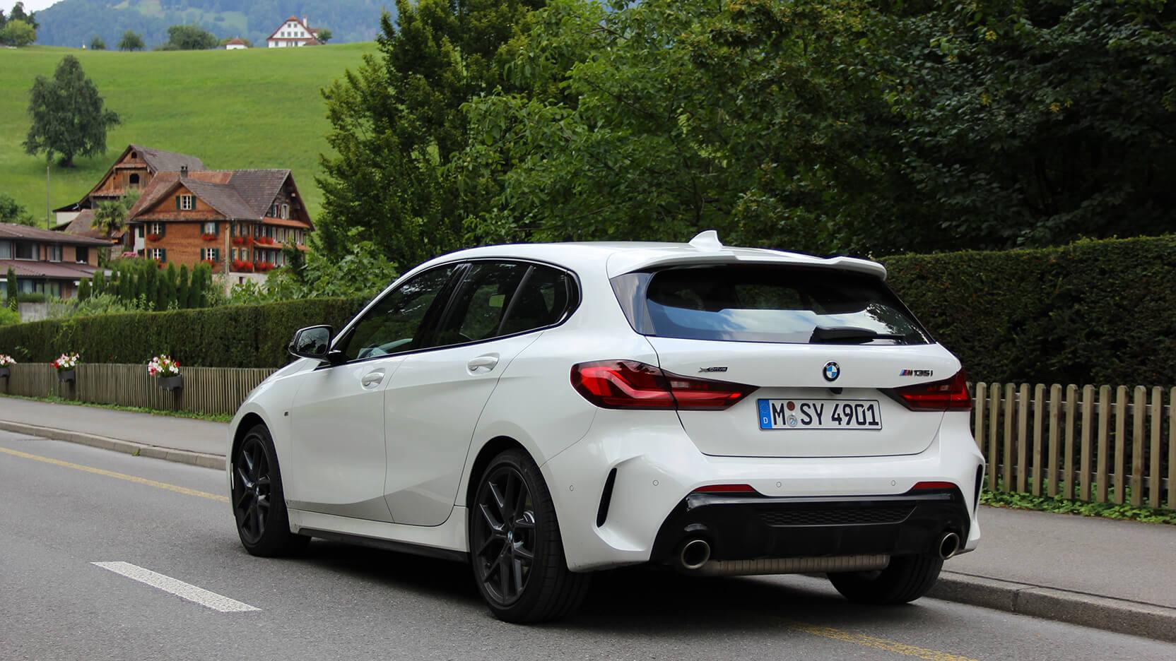 BMW M135i Test Heck