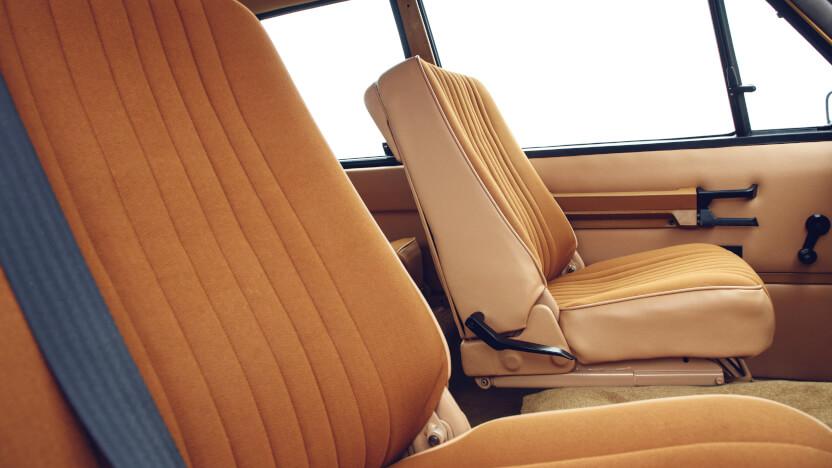 Range Rover Classic Interieur