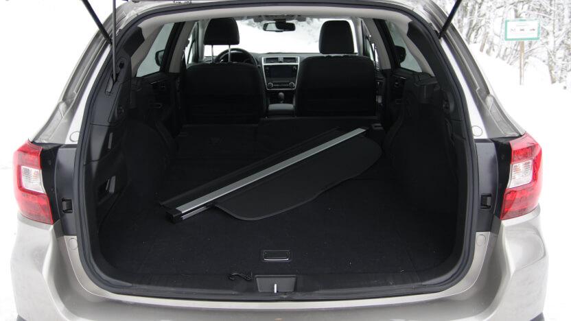 Subaru Outback Test Kofferraum