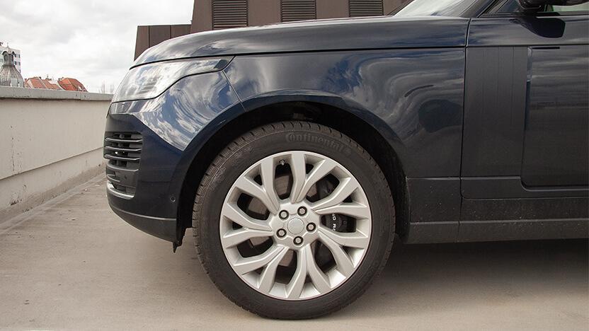 Test Range Rover Felgen