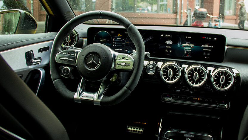 Test Mercedes AMG A 35