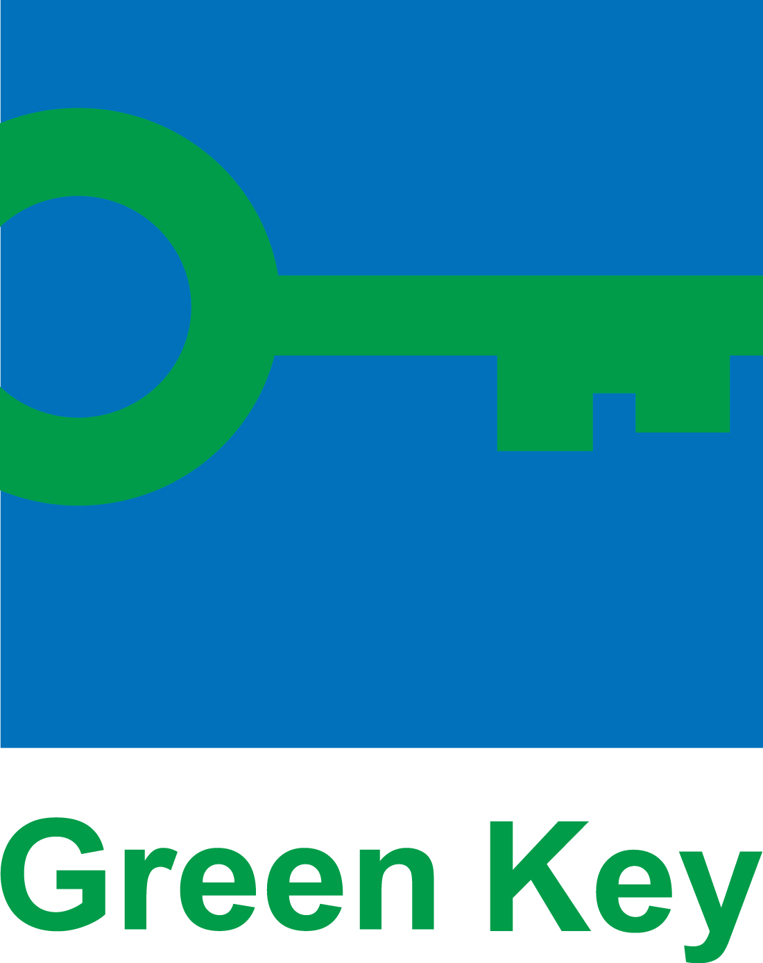 Green Key logo with text