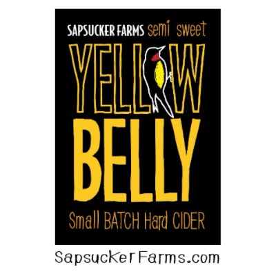 Sapsucker Farms Yellow Belly Hard Cider Logo