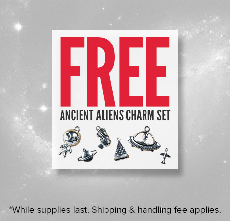 Ancient Aliens Charm Set 8/26