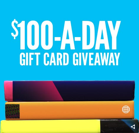 100 a Day Giveaway