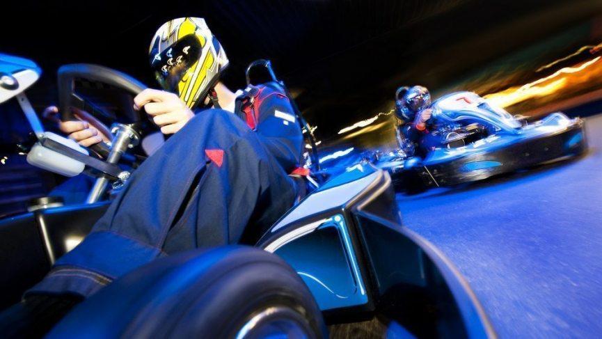 GoKart i Hamborg - race med drengene