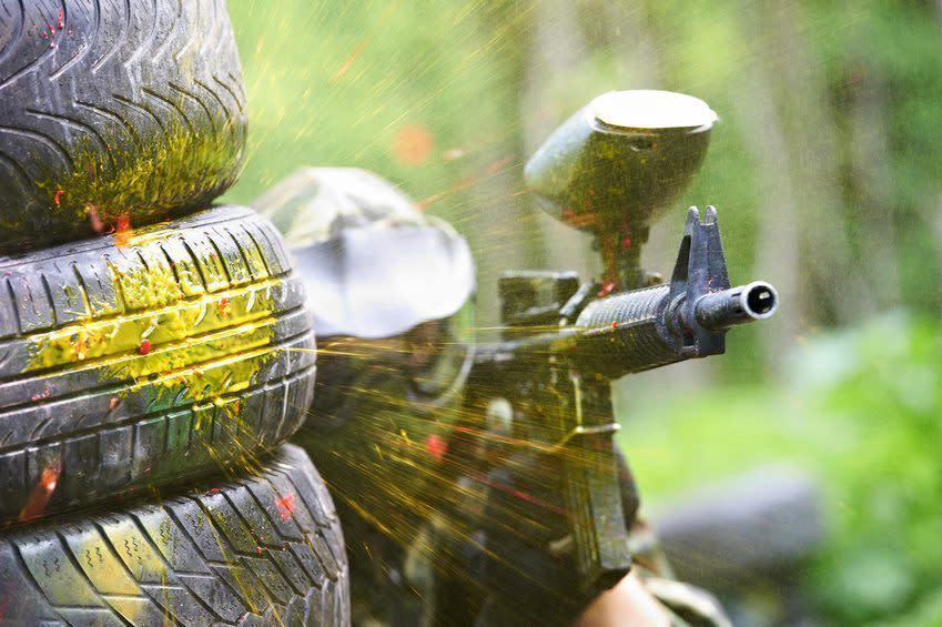Amsterdam stag do activities - paintballing - Pissup