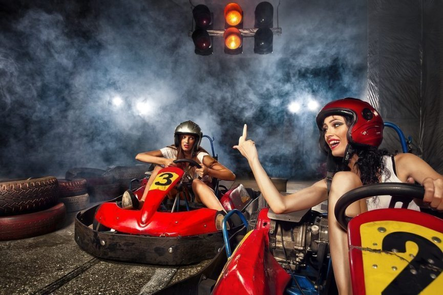 Go karts in Budapest - Pissup stag do