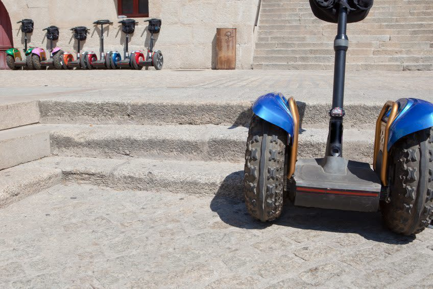 segway bike tour - Lisbon