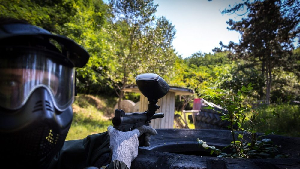 Paintball in Budapest