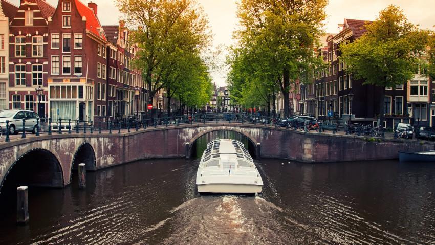 Stimmung in Amsterdam.