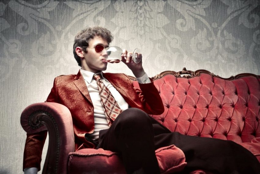 Stag Party Ideas - drinking wine