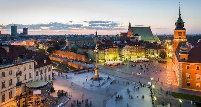 Varsovie en EVG : au top pour la jeunesse européenne