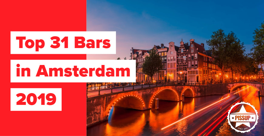 Top 31 Bars in Amsterdam 2019