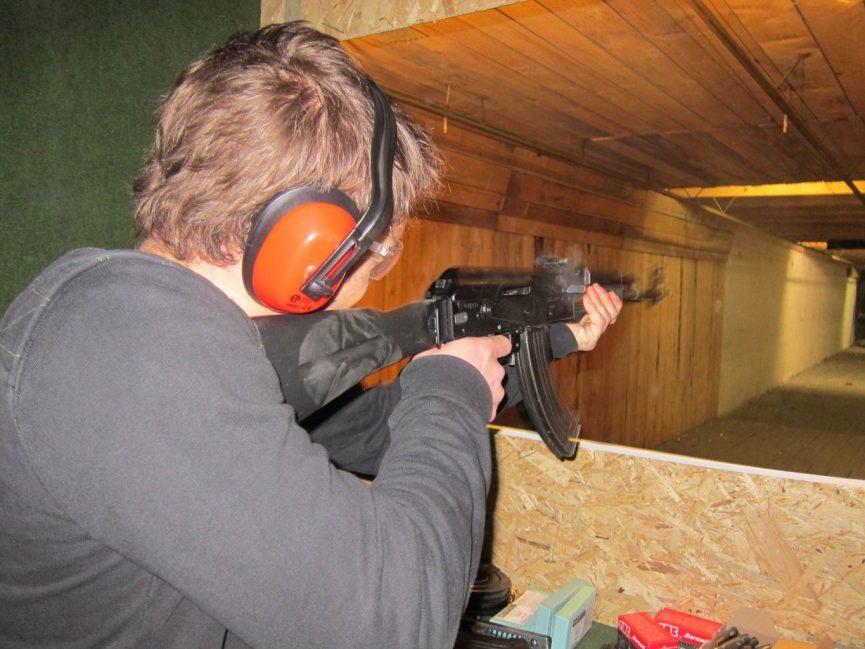 Kalaschnikow schießen Budapest