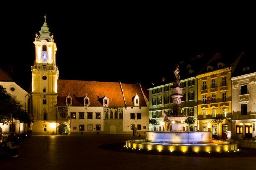 Bratislava er både hyggelig og festklar
