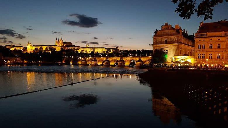 Stadtansicht von Prag.