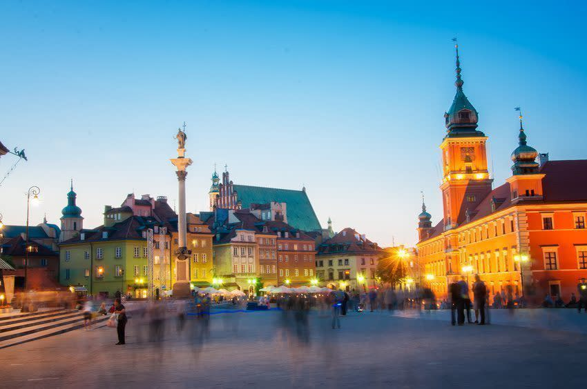 Warsaw City Guide for Stags - Pissup