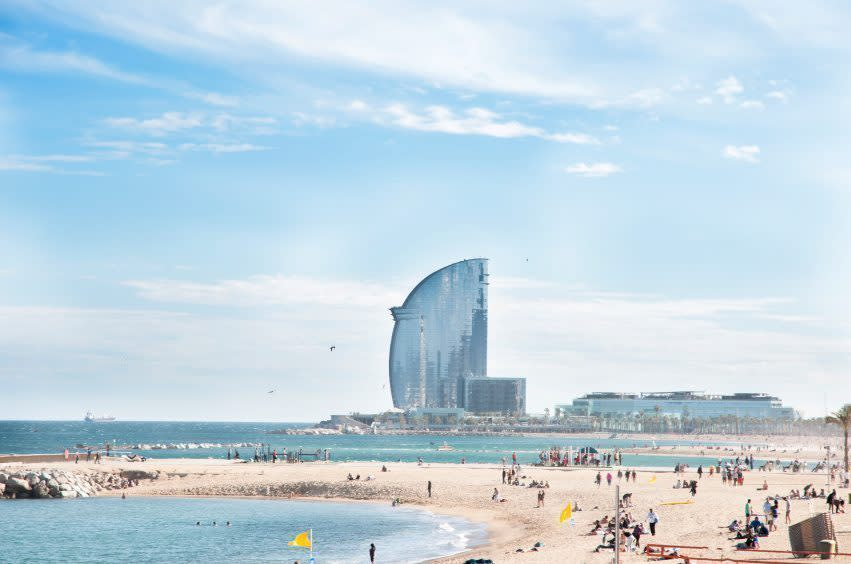Barcelona beach guide - Pissup Stag Do