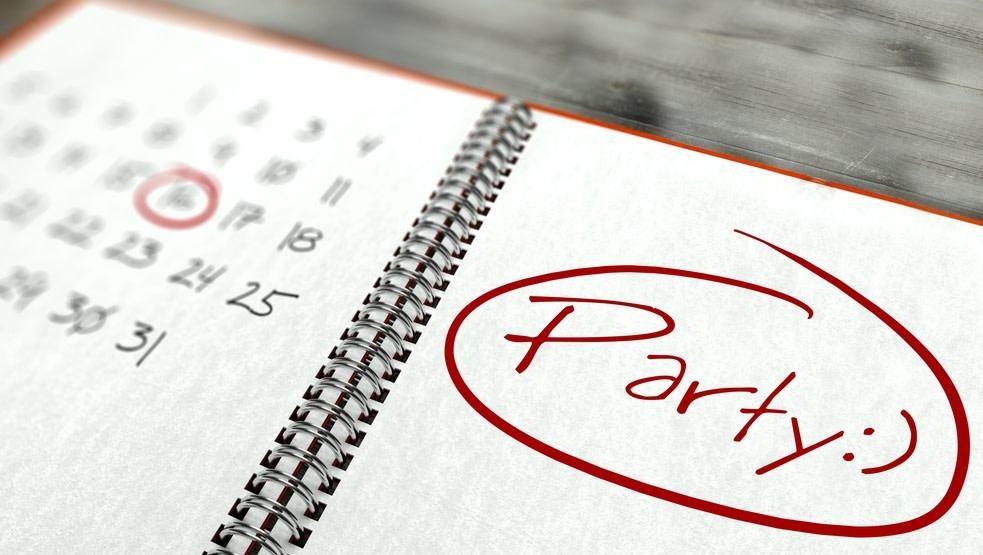 Wichtigster Punkt der Junggesellenabschied-Checkliste: Einen Termin finden.