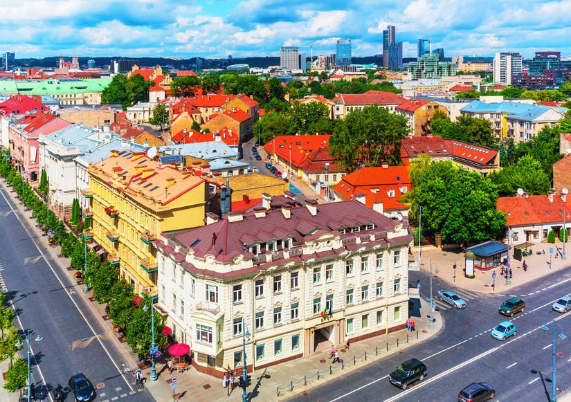 Vilnius, Nordens Jerusalem, vakker arkitektur på UNESCOs verdensarvsliste