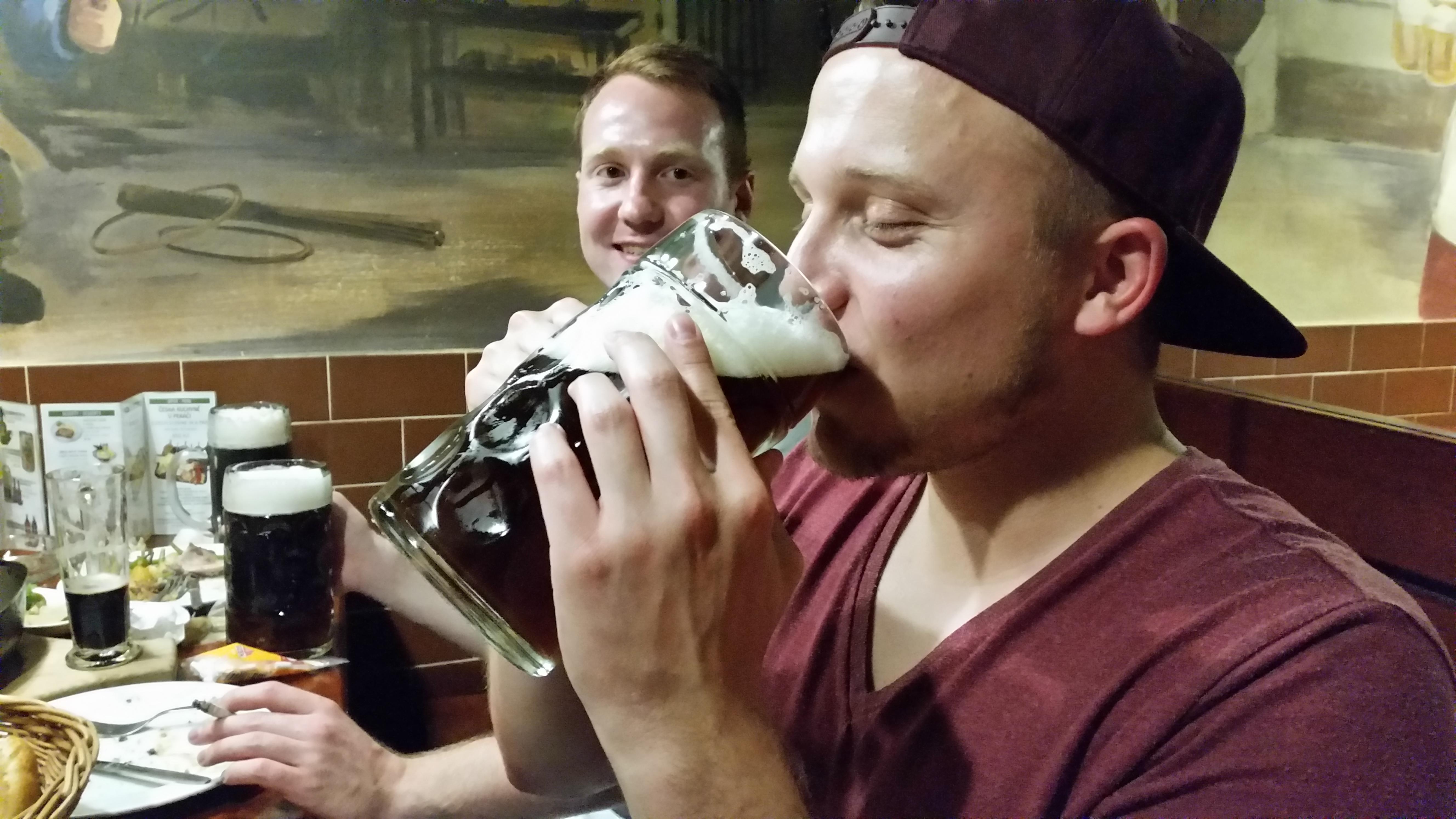 Brauerei mit Besäufnis