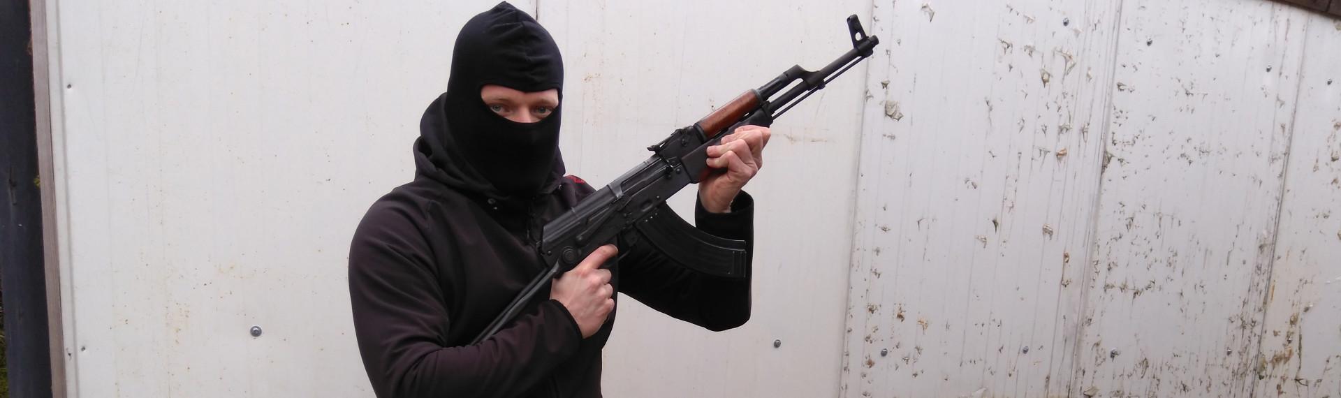 Skyt med Kalashnikov Praha