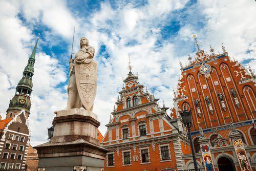 Sentrum av Riga - en vakker by med mye kultur
