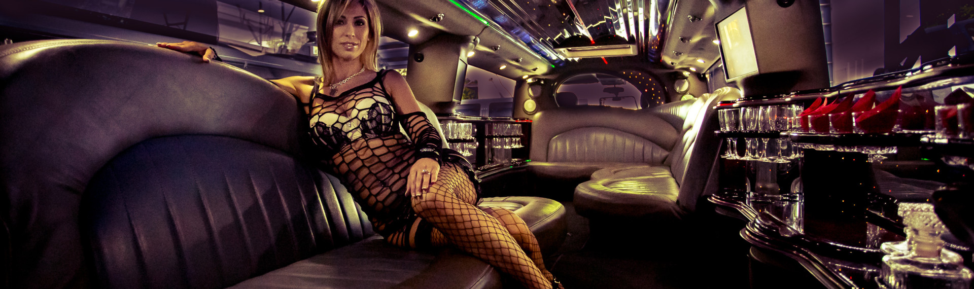 Strip-tease en limousine Prague